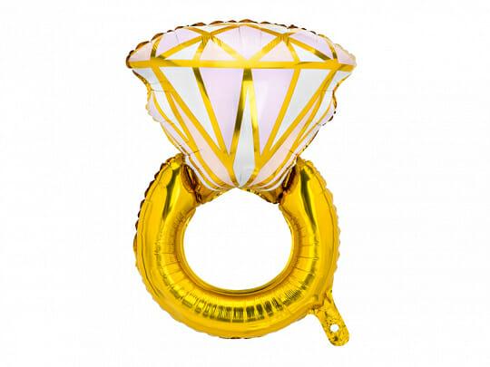 balon pierścionek zaręczynowy