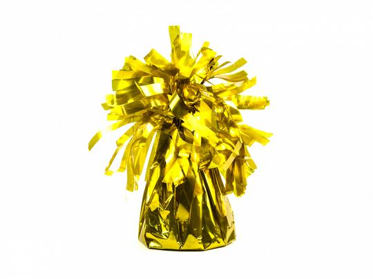 obciążnik do balonów złoty
