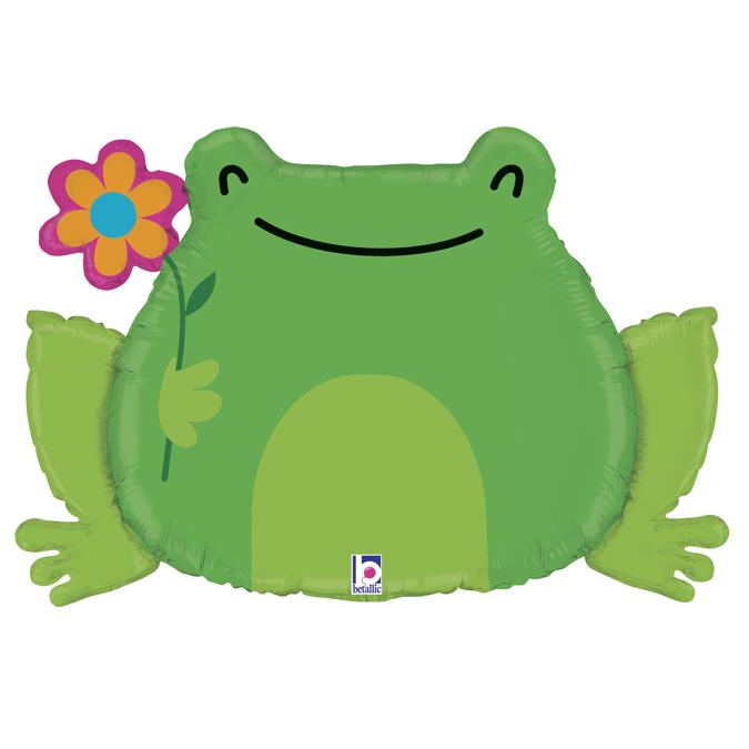 balon żaba