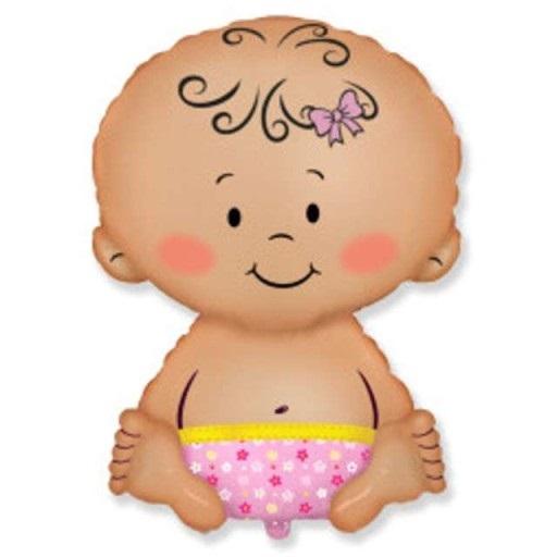 Balon-foliowy-BOBAS-dziewczynka-baby-shower-35-cm