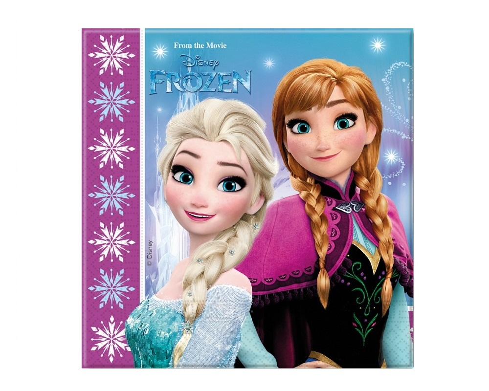Serwerki Kraina Lodu Elsa i Anna