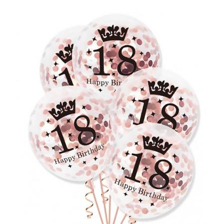 Balony-z-konfetti-Rose-Gold-na-18-urodziny