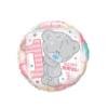 Balon foliowy roczek Teddy różowy