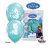 Balony Anna Elsa Olaf błękitne