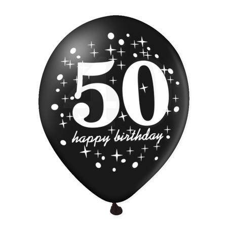 Balon-na-50-urodziny-czarny-30cm