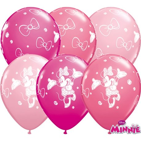 Balon-z-nadrukiem-minnie-pastel