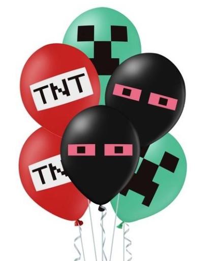 Balony-kolorowe-Minecraft