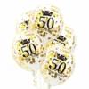 Balon transparentny 50 urodziny