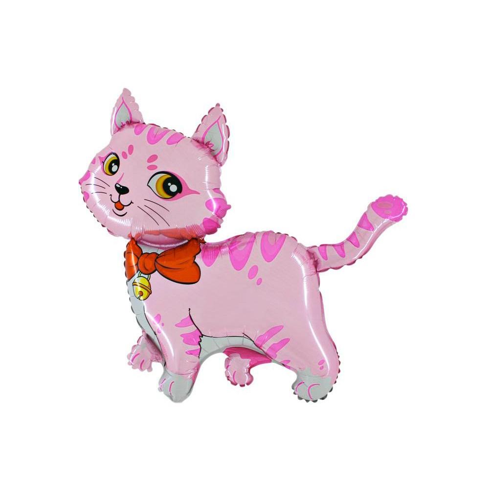 balon-kot-rozowy