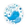 Balon okrągły Narwahl Baby Boy