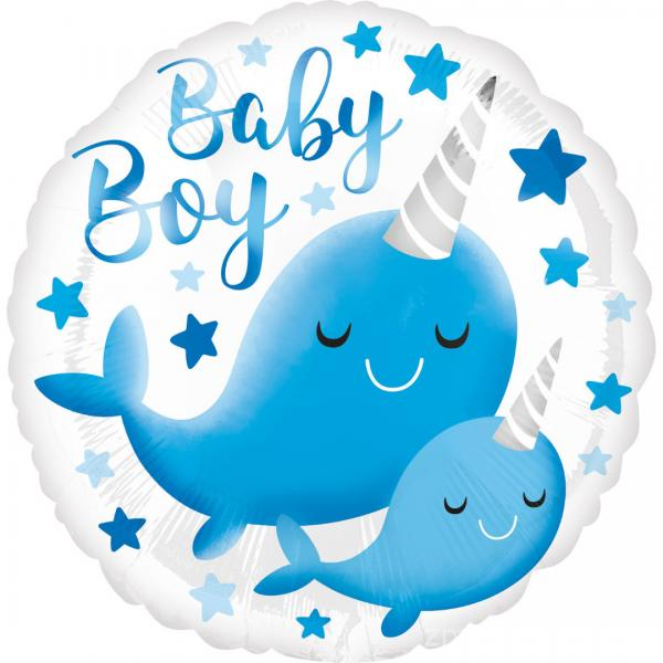 balon-narwahl-baby-boy