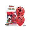 Balon z nadrukiem Myszka Miki czerwony
